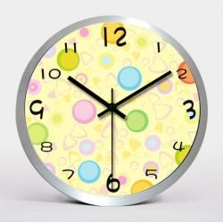 30CM Modern Design Wall Clock circle and heart shape
