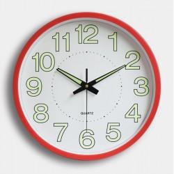 29CM Round Wall Clock fluoresce