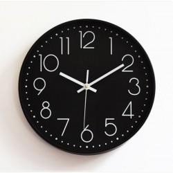 29CM Waylon Analog Wall Clock-black