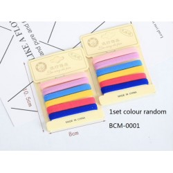 8pcs 6.5cm hair band