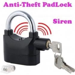 Anti-Theft Siren Security System Door PadLock 9*10cm