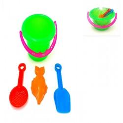 4in1 beach toy set w12cm*h9cm
