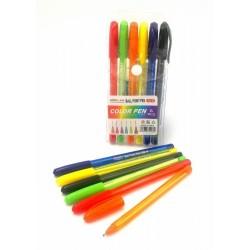 432m 6pcs 1.0mm ball point pen