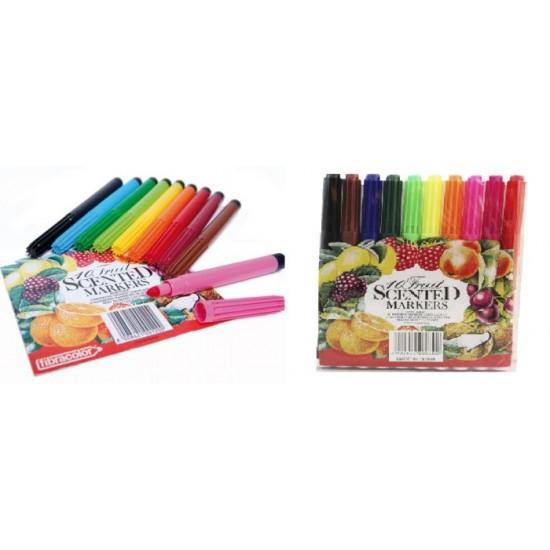 10pcs water colour pen(fruit card)