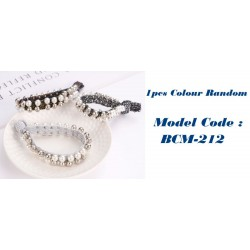 1pcs Elastic Pearl Hair Band Tie Rope Jewelry Ring