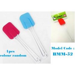 1pcs Silicone Scraper 12cm colour random