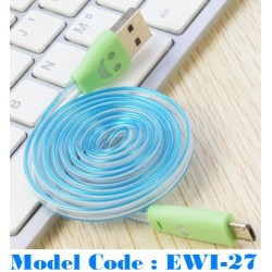 1pcs cable with light