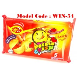100g Win2 Potato Crisp Crackers-Tomato (931F)