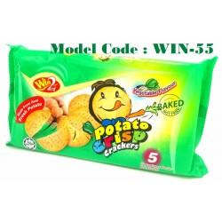 100g win2 potato crisp crackers-vegetable (932F)