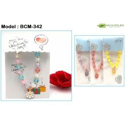 Daisy Pendant Bracelet (Random Colour)