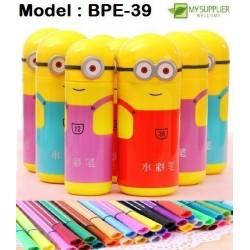 12pcs Minion Colour Pen