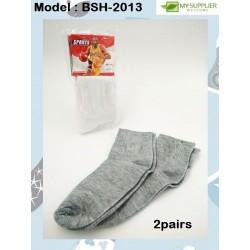2pairs Sport Sock (Random Colour)