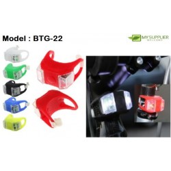 Bicycle Light L4cm*W4cm (Colour Random)
