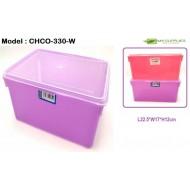 Yokafo 3.3ltr 330 Rectangular Plastic Container L22.5*W17*H12cm