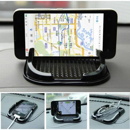 Car Anti-Slip Dashboard Mobile Phone Holder Sticky Pad Mat 15*9*1.6cm