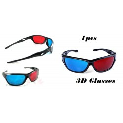 3D Glasses Anaglyph Glasses Red and Blue Lenses 15cm