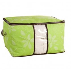 Capacity Bamboo Charcoal Foldable Storage Bag 35*58cm