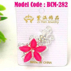1pcs Diamond Crystal Brooch 5cm