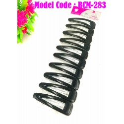 10in1 7cm black hair clip