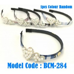 1pcs Headband with pearl decoration