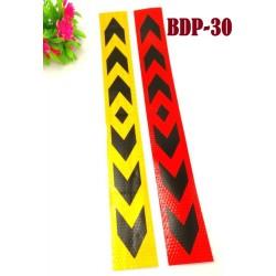 2in1 Reflective strip stickers L40cm*W5cm