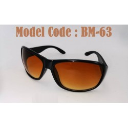 1pcs Sun Glasses For Men (brown/black)