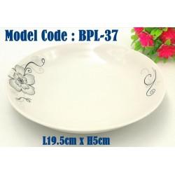 8inch ceramic plate W19.5cm*H5cm