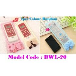 Fabric Lace TV Remote Control Case L24cm*W8cm
