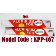 5m*300mm+- aluminium foil*