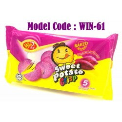 100g win2 potato crisp crackers-sweet potato flavour (975F)