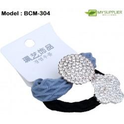 2in1 Towel Ring Diamond Rubber Band (Colour Random)