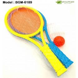 6189 4in1 Tennis Play Toys Set L26.5cm x W11.5cm