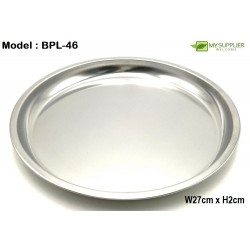 Stainless Steel Plate W27cm*H2cm