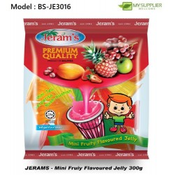 300g Jeram Mini Fruity Jelly