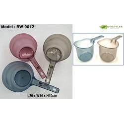 0012 Transparent Water Scoop L26*W14*H10cm