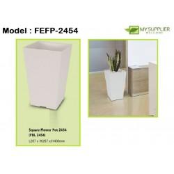 FELTON FBL2454 Square Flower Pot W30cm x H40cm