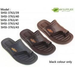 3763 Black Bowling Slipper Size 40(7)