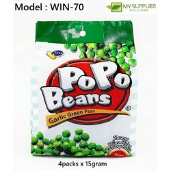 4IN1(15GM)POPO Garlic Green Peas