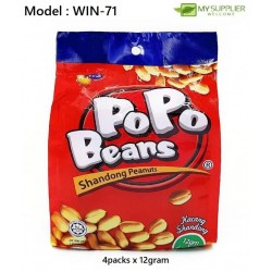 4IN1(4X12GM) POPO Beans Shandong Peanuts
