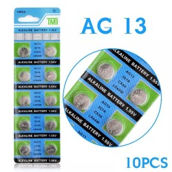 10pcs 1.55v 357a CX44 LR44W watch battery
