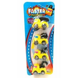 4in1 faster mini truck toys 6*4cm