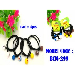 4IN1 rubber band hair rope