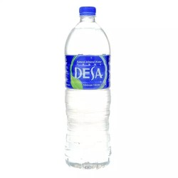 1.5liter desa mineral water