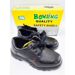 84-bow201 bk/39 safety shoes