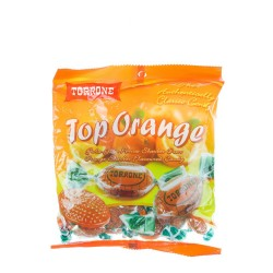 150g torrone top orange flavour candies