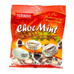 150g torrone choco mint flavour candies