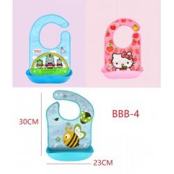 Slicone Waterproof Baby Saliva Bag L30*W23cm