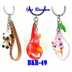 cartoon key chain with rope