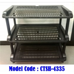 applelady jt4335 shoes rack 3 tier l53.5*w29.5*h55cm
