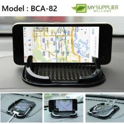 Car Anti-Slip Dashboard Mobile Phone Holder Sticky Pad Mat L15cm x W9cm x H1.6cm